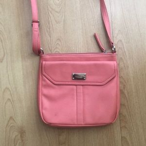 Nine West peach crossbody handbag